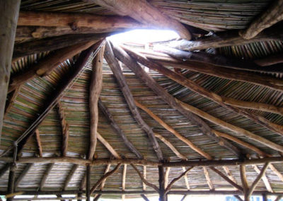 El techo reciprocal