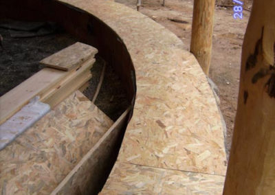 MArco interior de madera