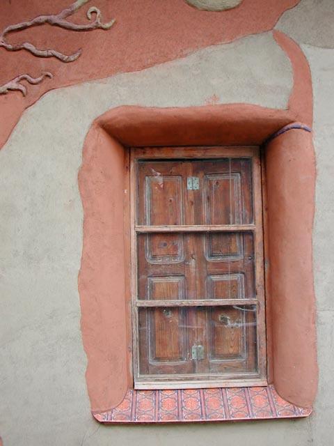 ventana fachada oeste