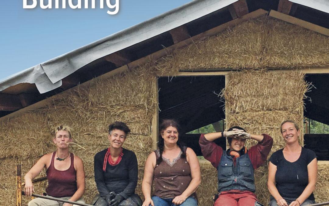 1 de Noviembre 2020: Sale a la venta «A Complete Guide to Straw Bale Building» by Rikki Nitzkin y Maren Termens